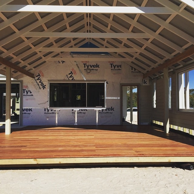 Timber framed construction